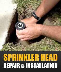We handle sprinkler head installation and repair in Denver Colorado